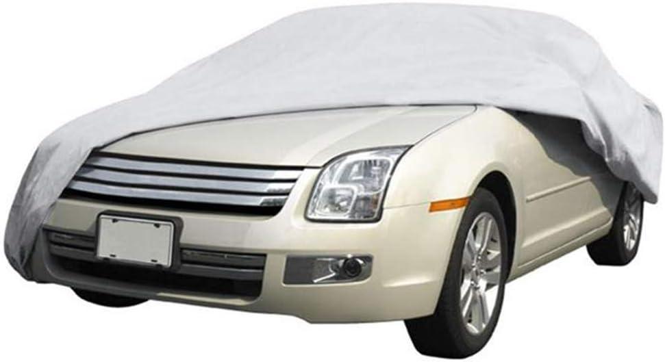 Universal para SUV Audi Benz BYD etc 430 * 160 * 120cm Dightyoho Funda del Coche Exterior Impermeable de Lona Cubierta de Coche a Prueba de Agua Rasgu/ño y Nieve Polvo