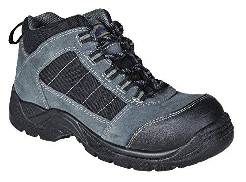 Portwest FC63 - Trekker Boot S1 - 47/12, color Negro, talla 47