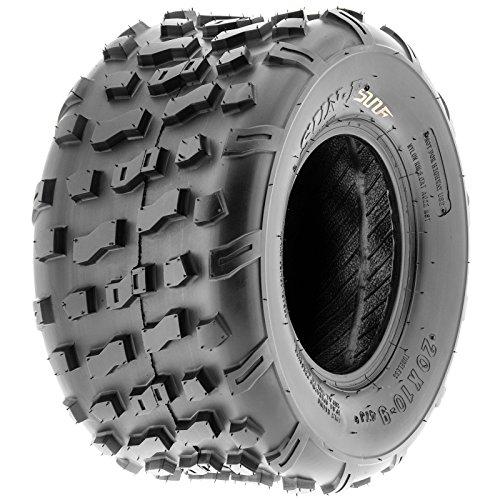SunF Rear ATV Knobby Tires 20x10-9 20x10x9 4 PR A022 (Set pair of 2) by SunF (Image #9)