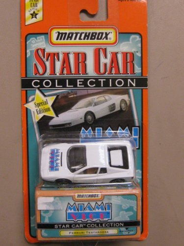 Matchbox Star Car Collection Miami Vice Special - Ferrari Collection For Sale