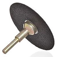 Drixet Cut Off Wheel Die Grinder Set - Round Hole Cut Off Wheel Metal Cutting Disc for Grinder Zinc Plated Flap Disc Cutting Wheels for Grinders with 8 Flat Cut Off Wheels Grinder Discs
