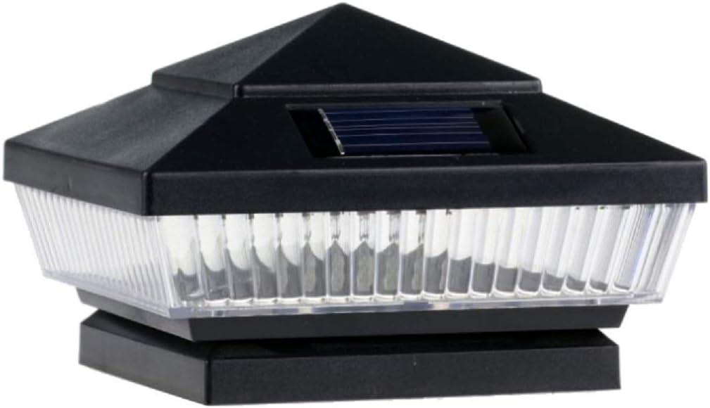14-Pack Solar Black Post Deck Fence 25% OFF Max 58% OFF Lights 4