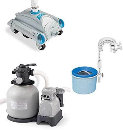Amazon.com: Intex Aspirador automático de piscina, montura ...