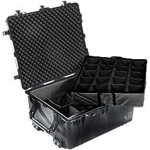 1690 - Case 30.01X25.02X15In Blk W/Div