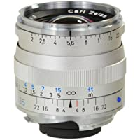 Zeiss 35mm f/2 Biogon T* ZM MF Lens for Zeiss Ikon & Leica M Cameras (Silver)