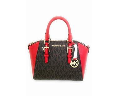 547c56b7b92096 Amazon.com: Michael Kors Ciara Medium Messenger top handle crossbody ...