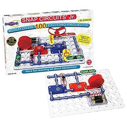 Buy Elenco Snap Circuits Jr. SC-100 Experiments Electric Circuit ...
