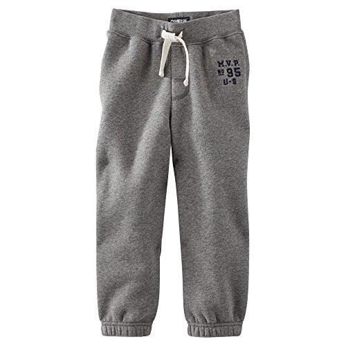 Carters Fleece Sweatpant (Carters OshKosh Gray Fleece Sweatpant 3M)