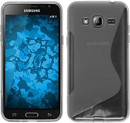 PhoneNatic Funda de Silicona Compatible con Samsung Galaxy J3 ...
