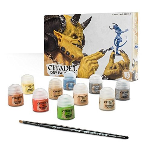 Games Workshop GW60-24 CITADEL DRY PAINT SET