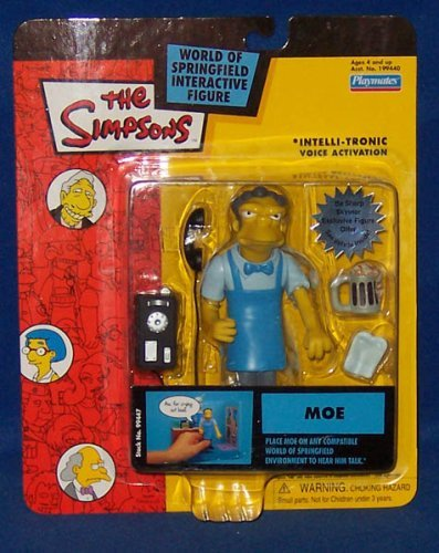 The Simpsons World Of Springfield Moe Action figure]()