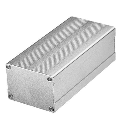Eightwood Aluminum Project Enclosure Electronic Box Case DIY Split Body - 4.33