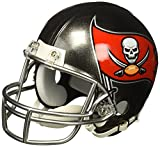 Riddell NFL Tampa Bay Buccaneers Replica Mini Helmet, Medium, Black/Red