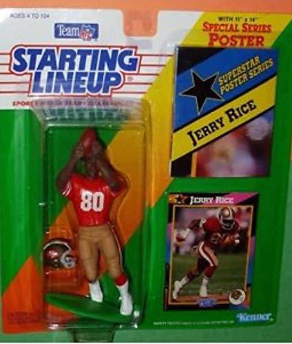 (Starting Lineup 1992 Jerry Rice #80 San Francisco 49ers)