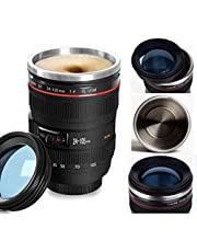 Camera Lens Coffee Mug,Stainless Steel Insulated Cup,Daily Life Coffee Cup,Photographer Camera Mug,Travel Coffee Cup for Men, Women.