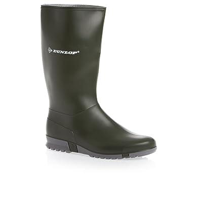 design innovativo 28185 9aa72 Dunlop Stivali Sport Massimo Comfort Verde/Grigio, Senza Puntale ...