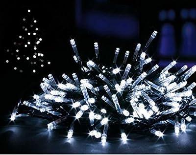 Solar String Lights, Lemontec 200 Led String Lighting Outdoor 1800mAh Solar Patio Lights Fit Xmas Garden Wedding Party Landscape[White]