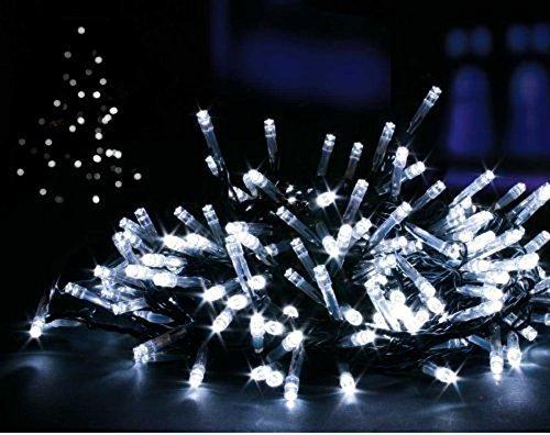 Lemontec Solar String Lights, 200 Led String Lighting