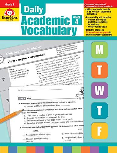 Daily Academic Vocabulary, Grade 4