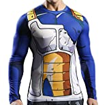 Men's 3D Novelty Lycra Compression Shirt Skin Tight Shirt Vest Short/Long Sleeve Shirt