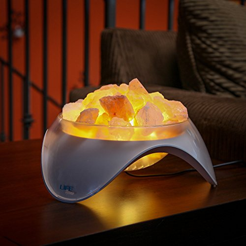 Do Salt Crystal Lamps Clean The Air : LIFE Home Serenity Himalayan Salt LED Lamp, Natural Crystal Air Purifier and New eBay