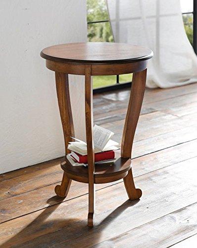 Beistelltisch Cereza Rund Wohnzimmertisch Holz Tisch Telefontisch