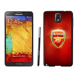 New Personalized Custom Designed For Samsung Galaxy Note 3 N900A N900V N900P N900T Phone Case For Arsenal FC Logo Phone Case Cover