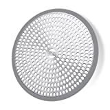 #9: LEKEYE Shower Drain Hair Catcher/Strainer/Stainless Steel and Silicone