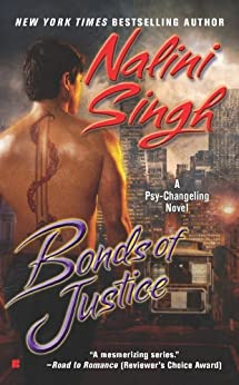 Bonds of Justice (Psy/Changeling Series Book 8) by [Singh, Nalini]