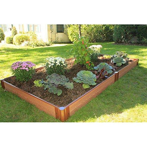 Frame It All Composite Raised Garden Bed Kit