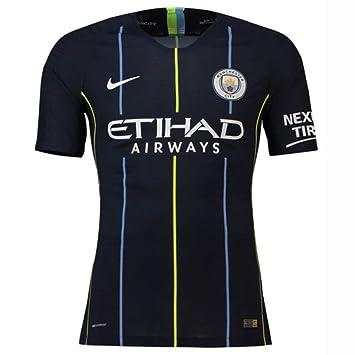 Nike 2018-2019 Man City Vapor Away Match Football Soccer T-Shirt Camiseta: Amazon.es: Deportes y aire libre