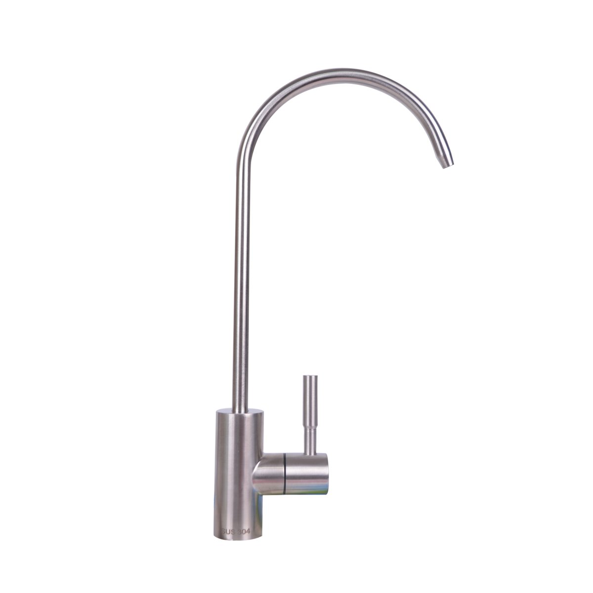 Baitaihem Drinking Water Faucets 360 Degree Chrome RO Reverse Osmosis Kitchen Bar Sink Drinking Water Filter Faucet Fits 1/4-inch Tube