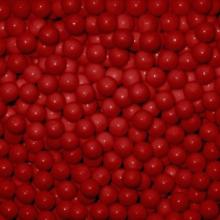 2 Lb Beads (Red Candy Beads 2 Pounds)