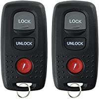 KeylessOption Keyless Entry Remote Control Car Key Fob Replacement for KPU41846 (Pack of 2)