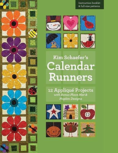 Quilt Napkins - Kim Schaefer's Calendar Runners: 12 Appliqué Projects with Bonus Placemat & Napkin Designs