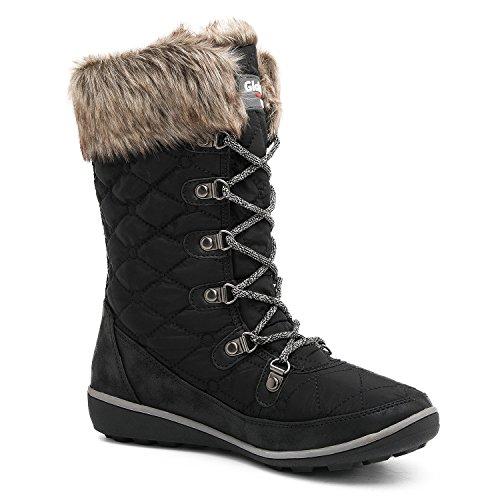 GLOBALWIN Women's 1731 Winter Snow Boots - Womens Best
