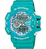 G-Shock GA-400A-2A Stylish Watch - Baby Blue / One Size