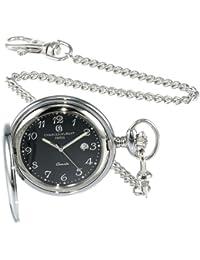 3599-B Stainless Steel Quartz Pocket Watch