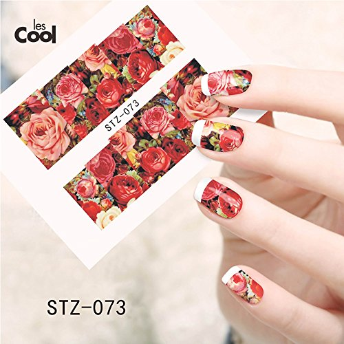 1-sheet-water-transfer-nail-art-sticker-decal-sexy-red-rose-flowers-garden-design-diy-nail-decoratio