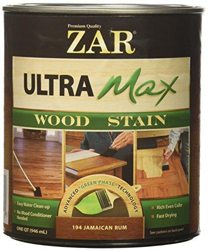 United Gilsonite Laboratories FBA_19412 3571-4120 Ultra Max Wood Stain Finish: Jamaican Rum, Qt