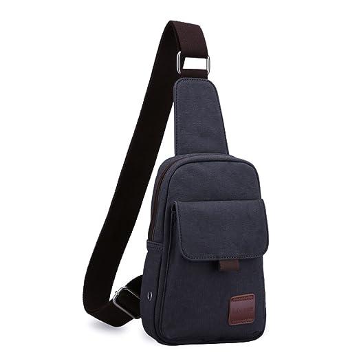 267101e9b2 Men chest bag Korean version of a sports Casual canvas shoulder bag Bumbag Men s  bags Student