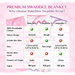 Baby-Swaddle-Wrap-Blanket-for-Newborn-Infant-0-3-Month-Swaddlers-Sleep-Sack-with-Adjustable-Wings-3-Pack-Breathable-Wrap-Sack-for-Girls