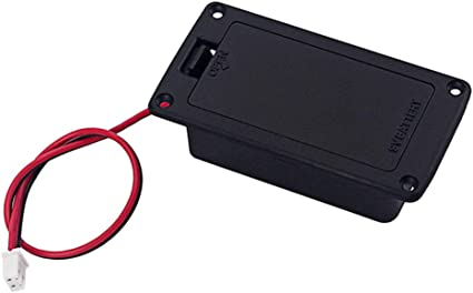 SUPVOX soporte caja batería pastilla para bajo activo: Amazon.es: Instrumentos musicales
