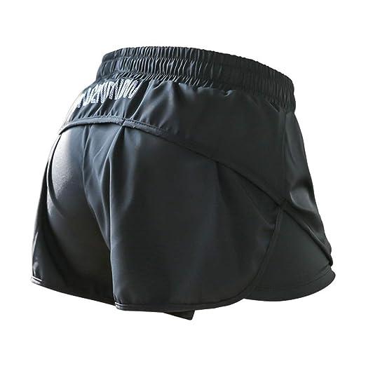 Bangxiu Shorts Deportivos para Mujeres Pantalones Cortos ...