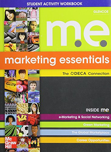 Marketing Essentials: Student Activities Workbook