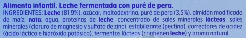 Nestlé iogolino Leche Fermentada con Puré de Pera - Paquete de 6 x 60 gr - Total: 360 gr: Amazon.es: Alimentación y bebidas
