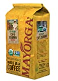 Café Cubano, 5lb, Whole Bean Coffee, Dark Roast, Direct Trade, 100% USDA Organic Certified