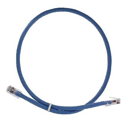 Amazon.com: Leviton 6LHOM-2L Home 6 Patch Cable, 2-Foot, Blue: Home Improvement