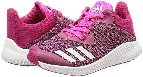 Rose Multisport Chaussures Enfant Adidas Mixte K Indoor Fortarun wRnUSqg