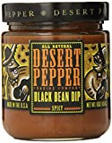 Desert Pepper Trading Company Black Bean Dip, Spicy, 16 Ounce